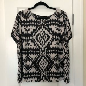Patterned Short-Sleeve Shirt